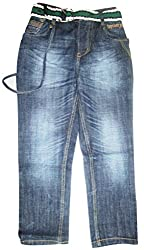 Topchee Kids' Jeans (JNK-08_Blue_2 to 3 Years)