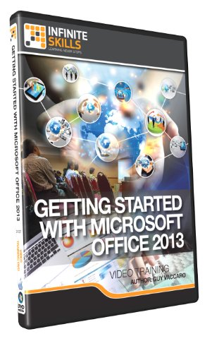 Getting Started With Microsoft Office 2013 Training Dvd