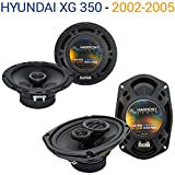 Hyundai XG 350 2002-2005 Factory Speaker Replacement Harmony R65 R69 Package