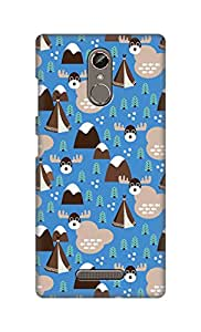 ZAPCASE Printed Back Cover for Gionee S6s