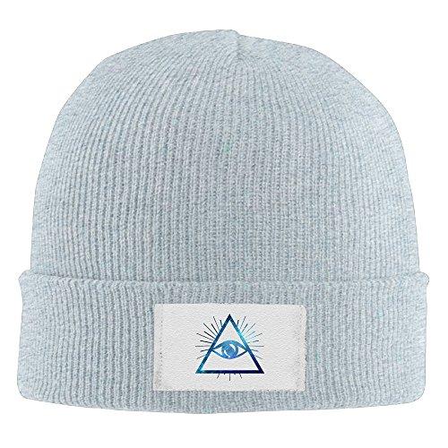 Unisex Illuminati Night Sky Design Winter Warm Knit Beanie Skully Hat Ash (Corky Devil compare prices)