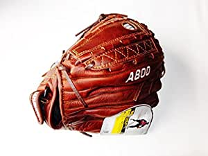 """Wilson Game Ready Soft Fit Fastpitch Glove (Brown), Left Hand Throw, 12.5"""""""