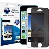 Tech Armor - SP-4PR-APL-IP5-1 - Film de protection d'�cran confidentiel Tech Armor pour iPhone 5/5S