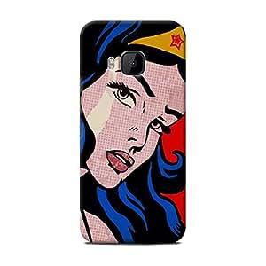 Retro Superwomen One M9 case