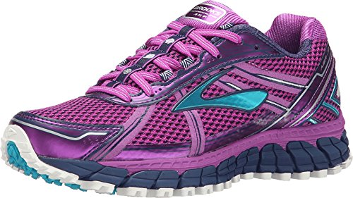 Brooks Adrenaline ASR 12 Trail Running Shoe - Women's Purple Cactus Flower/Bluebird/Blue Print, 9.0