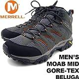 [クライミング] MERRELL(メレル) / BELUGAUS9(27.0cm)メレルメンズモアブミッドゴアテックスベルーガMERRELLMEN'SMOABMIDGORE-TEXBELUGAJ87313男性用トレッキングシューズ登山用