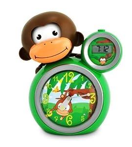 BABY ZOO Sleeptrainer Momo Reloj Despertador Educativo (Green) - BebeHogar.com
