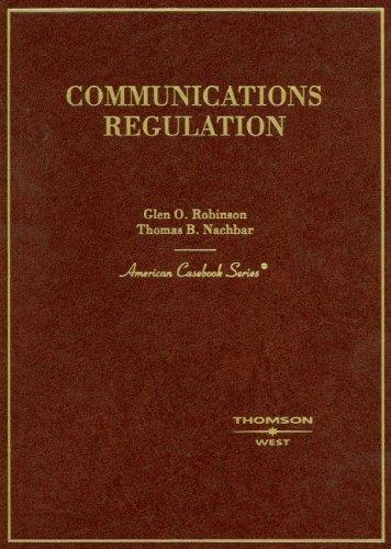 Communications Regulation (American Casebook)