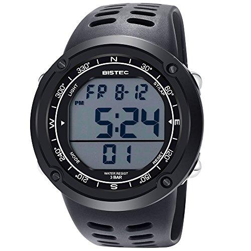 bistec-b-006n-bk7-multifonction-montre-homme-quartz-led-digital-cadran-blanc-bracelet-resine-noir-bo