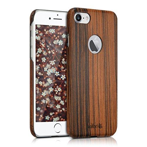 kalibri-Holz-Case-Hlle-fr-Apple-iPhone-7-Handy-Cover-Schutzhlle-aus-Echt-Holz-und-Kunststoff-aus-Lindenholz-in-Braun
