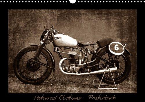 Motorrad Oldtimer Fotobuch (PosterbuchDIN A3