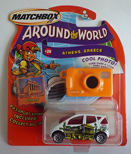 2003 Matchbox, Around The World Collection # 26 of 36 Athens, Greece (1 Each) - 1