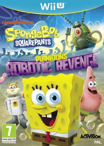 SpongeBob SquarePants Plankton's Robotic Revenge Nintendo Wii U (Planktons Robotic Revenge Wii compare prices)