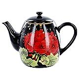 Geraniums Teapot