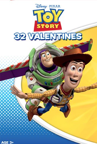 Paper Magic Showcase Toy Story Valentine Exchange Cards (32 Count) - 1