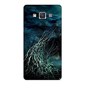 Gorgeous Horror Tree Multicolor Back Case Cover for Galaxy Grand 3