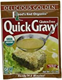 Road's End Organics Gluten Free Golden Gravy Mix, Organic, 1-Ounce Pouches (Pack of 12)
