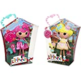 Lalaloopsy Special 2-Pack Candle Slice O'Cake Doll & Rosebud Longstem Doll