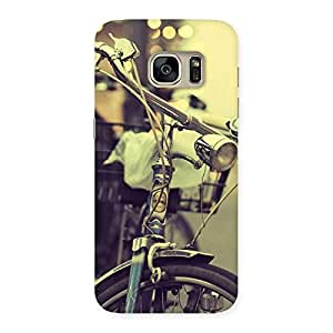 Gorgeous Bycycle Vintage Back Case Cover for Galaxy S7