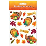 Thanksgiving Stickers Party Accessory (1 count) (4 Shs/Pkg)