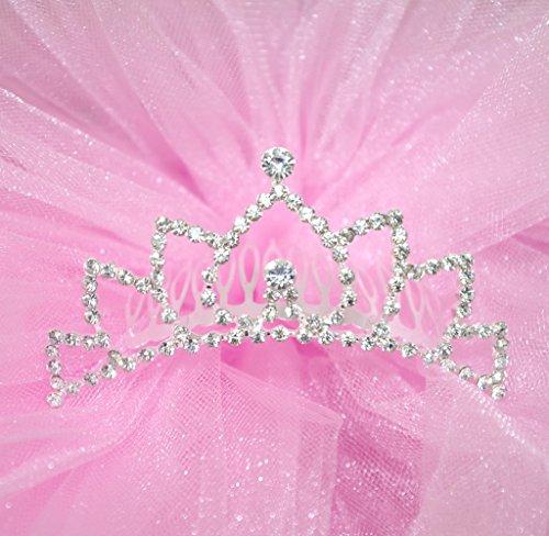 Flower Girl Bridesmaid Bridal Tiara Comb