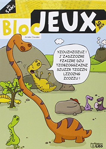 Bloc jeux dinosaures - Dès 5 ans