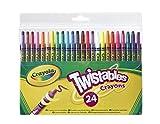 Crayola-Crayons&Pencils 24 Twistable Crayons