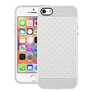 iPhone 5s Case, LEAF Protective Tpu Back Case Cover For Apple iPhone 5s (White)