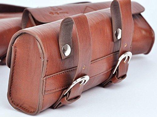 Handmade PU England Vintage Bike Saddle Bag Size 189cm4.5cm 0