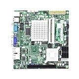Supermicro MBD-X7SPA-H-D525-O - Atom D525 Intel ICH9R Chipset Mini-ITX Motherboard DDR3 SATA PCIE Gigabit LAN VGA