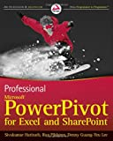 Sivakumar Harinath Professional Microsoft PowerPivot for Excel and SharePoint: With Microsoft Office 2010 and SQL Server Gemini (Wrox Programmer to Programmer)