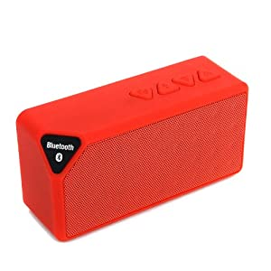 Masione™ Mini Portable Wireless Bluetooth Speaker +Rechargeable Battery(Up to 10 hours playtime) , Wrist Strap Design for Iphone 5/5s/4/4s,iPod, Nexus 7/10,Ipad Mini Ipad Air,HTC,Samsung Galaxy S3,S4,S5,Google Music, Androids,Smartphones,MP3,MP4 and Mus