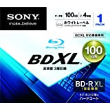SONY Blu-Ray Disc - BD-R XL 100GB 4X - 1 Pack Printable - 2011par Sony