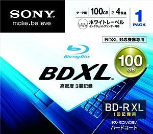 SONY Blu-Ray Disc - BD-R XL 100GB 4X - 1 Pack Printable - 2011