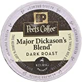 Peet's Coffee Major Dickasons Single Cup Capsule, 16-Coundt Pack of 6