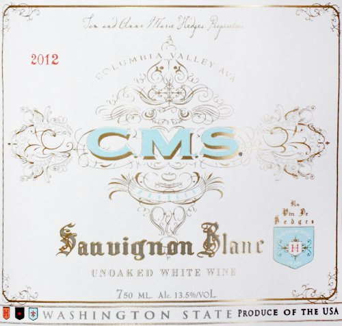 2012 Hedges Cms Sauvignon Blanc 750Ml