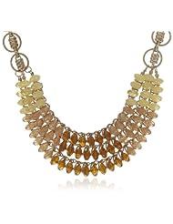 Bansri Choker Necklace For Women (Brown) (N8096 BRN - J2)