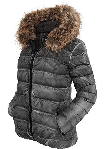 urban classics donna giacca invernale Spray Dye - Nero, XS