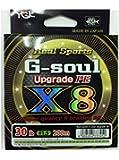 よつあみ(YGK) リアルスポーツ G-soul X8 アップグレード 200m
