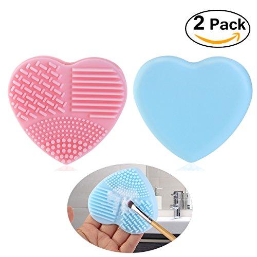 pixnor-silikon-pinselreinigermake-up-pinsel-reinigung-brush-cleanerrosa-blau2-stucke