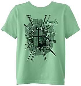 Protest Huub T-Shirt Garçon Eucalyptus FR : 10 ans (Taille Fabricant : 140)