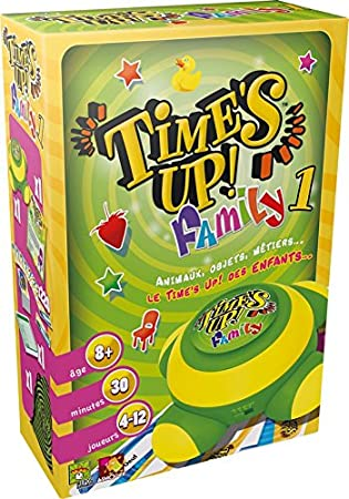 Asmodee - TUF1GMS - Time's Up - Family 1 - Jeu d'Ambiance