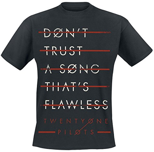 Twenty One Pilots Trust Lines T-Shirt nero M