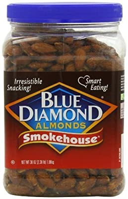 Blue Diamond Almonds Smokehouse Almonds, 38 Ounce