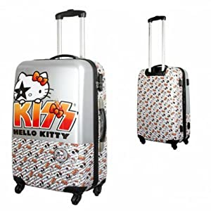 Hello Kitty Kiss large suitcase