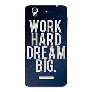 Hard Dream Back Case Cover for YU Yureka Plus
