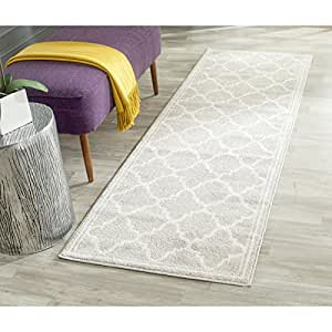 Safavieh Amherst Collection AMT422B Light Grey And Beige Indoor