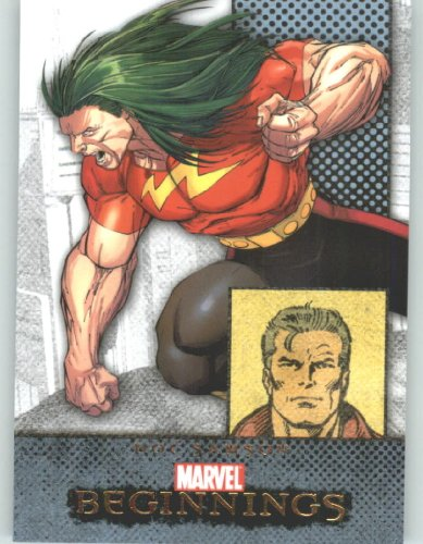 Marvel Beginnings #55 Doc Samson (Non-Sport Comic Trading Cards)(Upper Deck - 2011 Series 1) (Doc Samson 1 Marvel compare prices)