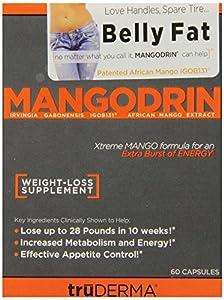 Truderma Mangodrin, Xtreme Mango, 60-Count