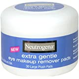 Neutrogena Extra Gentle Eye Makeup Remover Pads 30'S Jar